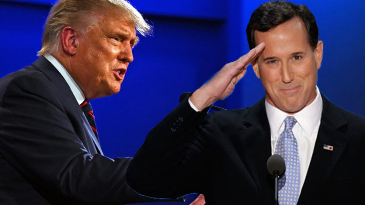 Rick Santorum Would Like You To Acknowledge GOP Feelings After 4 Years of Endless Cruelty – No.