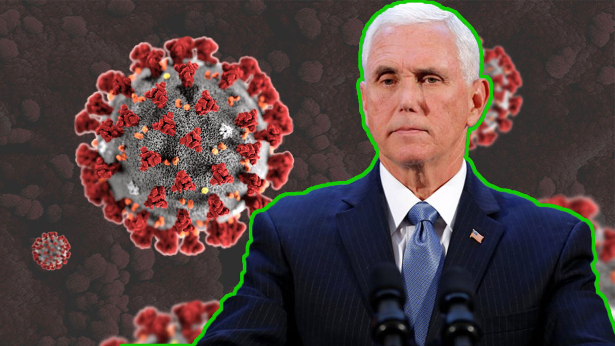 Motherloving Human Dildo Mike Pence Let An HIV Crisis Break Out In Indiana, Now He's Done The Same for Coronavirus, Never Elect Him Again